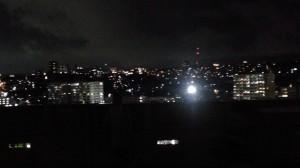 市内某所。夜景も綺麗でした。